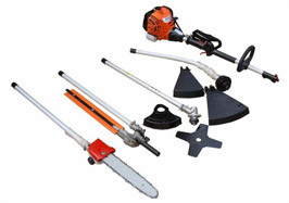 YardShape 33cc Extended Reach Multi-Cutter 4-in-1 Set